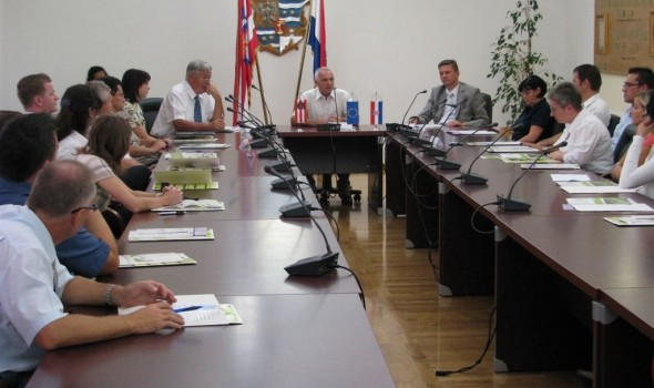 Varaždin County and Cakovec implementing energy efficiency project