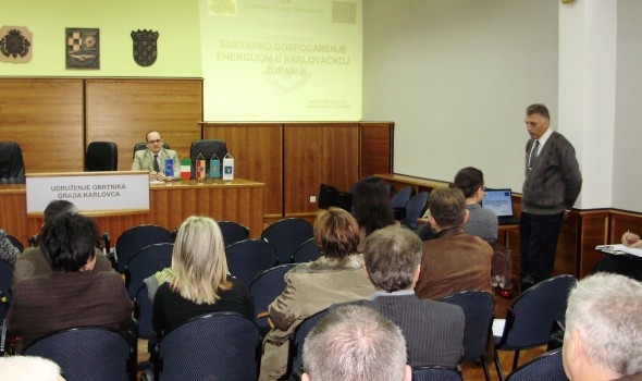 "Karlovac: Project ""Systematic Energy Management"" presented"